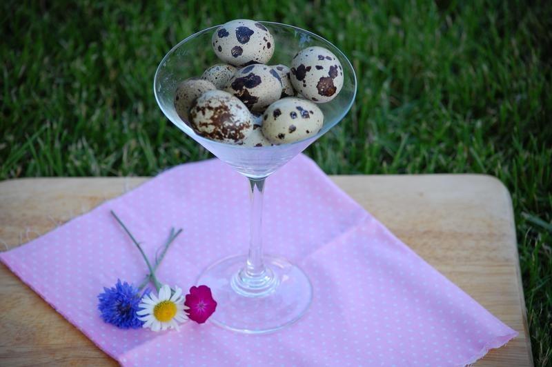 Коктейль из перепелиных яиц фото