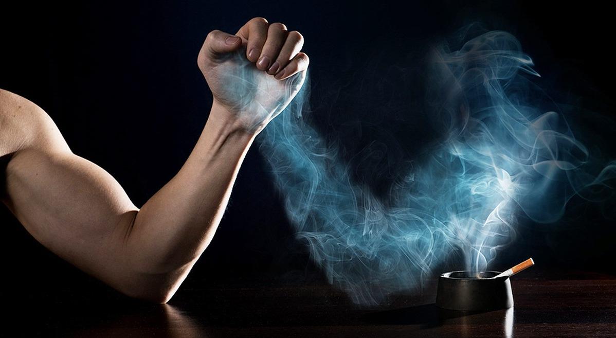 борьба с курением фото