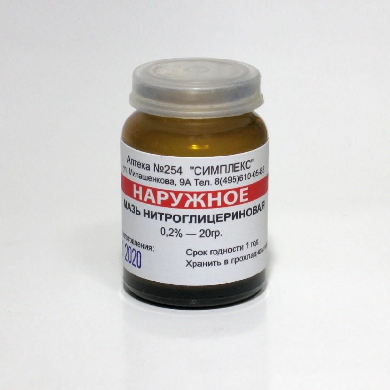 Нитроглицериновая мазь для потенции фото
